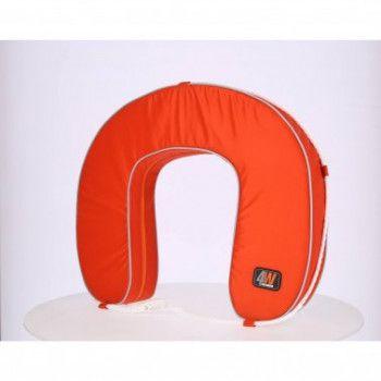 Bouée fer à cheval 4W orange